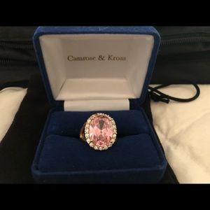 Jewelry - Jaqueline Kennedy Camrose & Kross Kunzite Ring